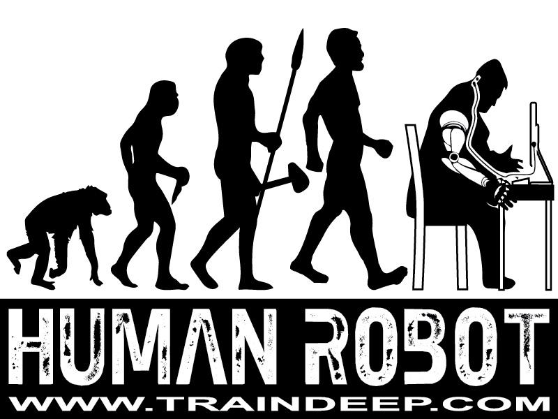 #HumanRobot- TrainDeep.com