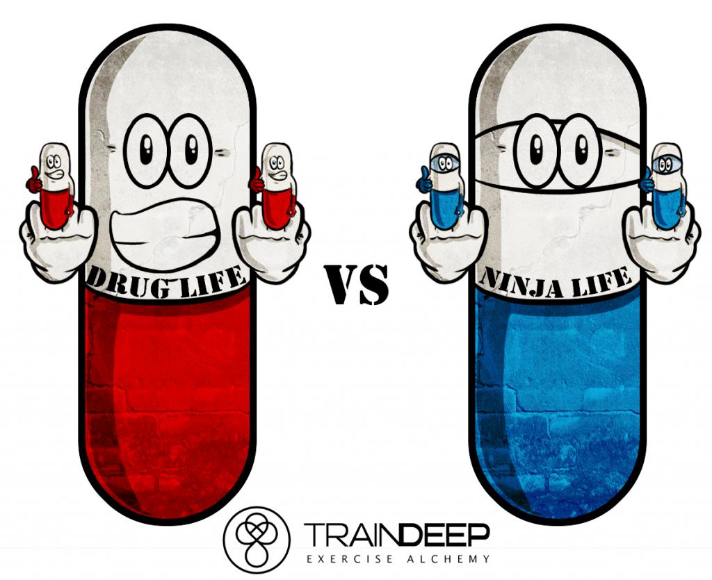 Ninja Vitamins - TrainDeep.com
