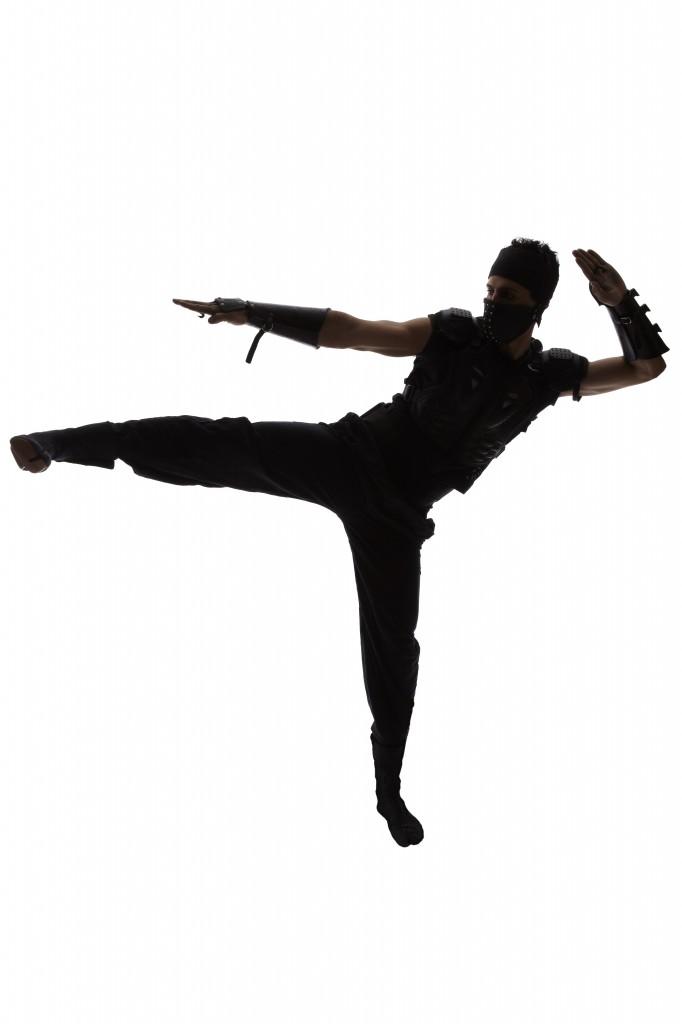 Ninja Side Kick- TrainDeep.com