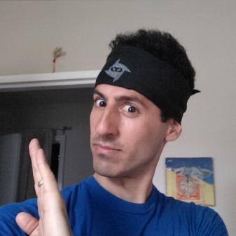 Ninja Selfie- TrainDeep.com