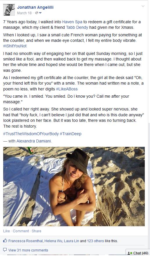 Body Radar Facebook Post