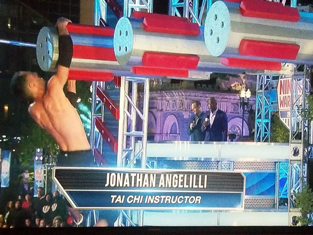 Jonathan Angelilli - American Ninja Warrior - tai chi nyc - traindeep.com - NBC
