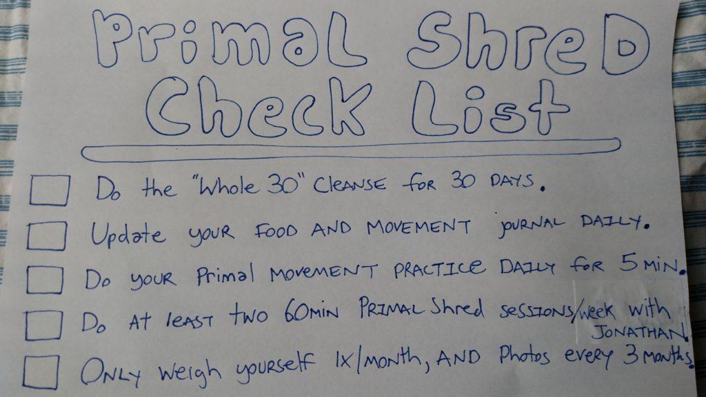 Primal Shred program - traindeep.com - jonathan angelilli - holistic weight loss